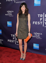 Kristen Wiig strode the red carpet at the Tribeca Film Festival wearing a pair of boldly patterned pumps.