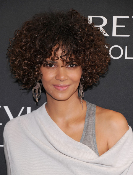 Halle Berry's Voluminous Curls