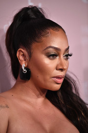 La La Anthony pulled her locks back into a high ponytail for the 2018 Diamond Ball.