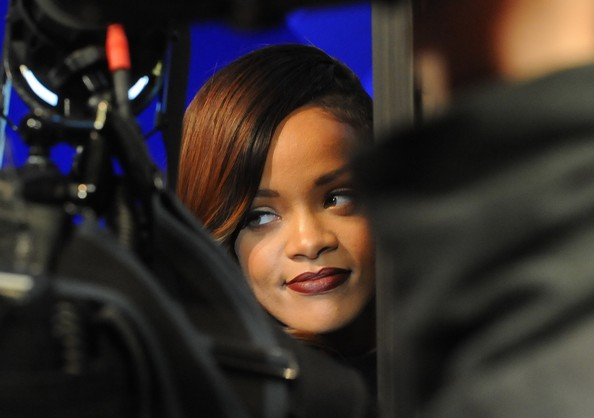 More Pics of Rihanna Dark Lipstick (1 of 26) - Rihanna Lookbook - StyleBistro