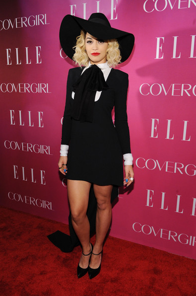Rita Ora Fishtail Dress