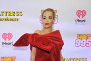 Rita Ora Off-the-Shoulder Dress