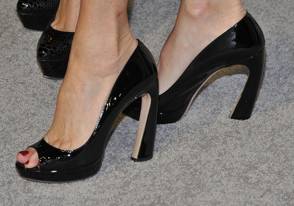 Rita Wilson Peep Toe Pumps