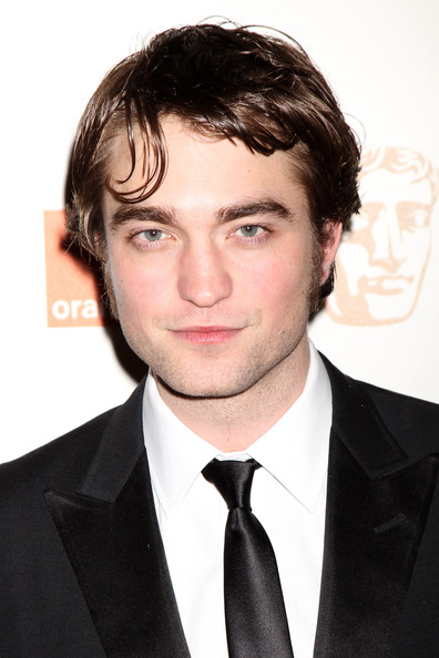 Robert Pattinson Narrow Solid Tie