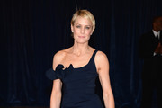 Robin Wright Penn Off-the-Shoulder Dress