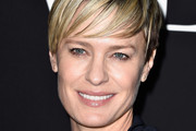 Robin Wright Short cut with bangs