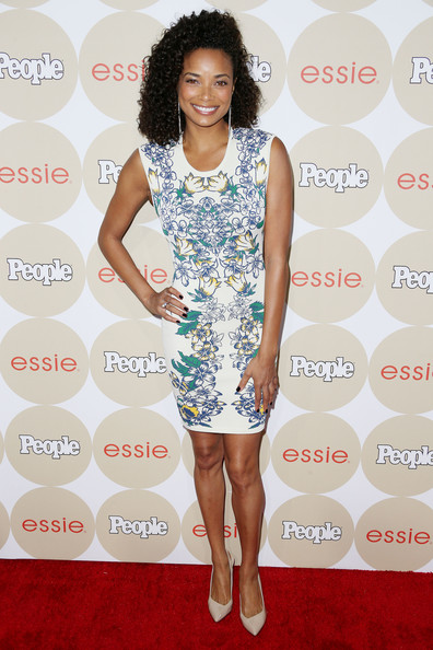 Rochelle Aytes Print Dress