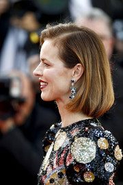 Eva Herzigova opted for a classic bob when she attended the Cannes Film Festival screening of 'Rocketman.'