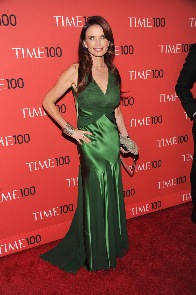 Roma Downey Evening Dress Roma Downey Looks Stylebistro