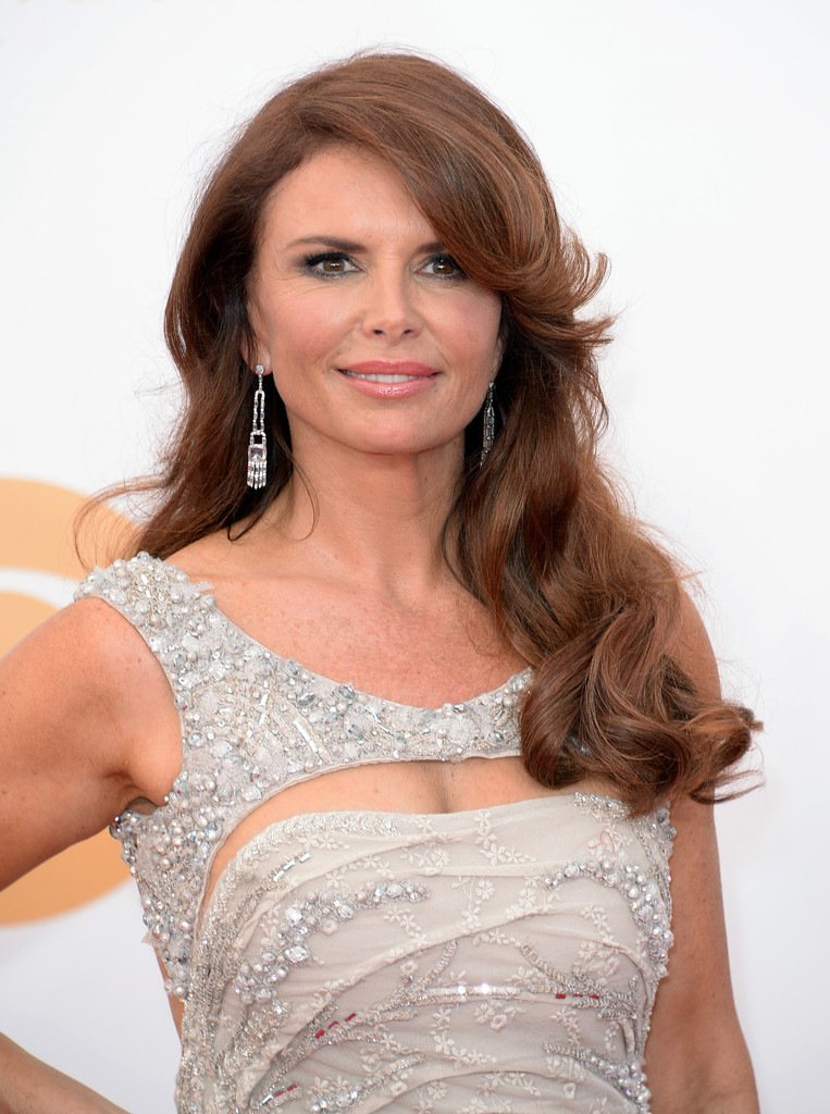 Roma Downey Long Curls Roma Downey Looks Stylebistro