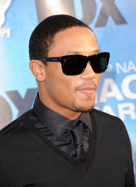 Romeo Miller Rectangular Sunglasses