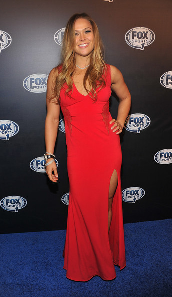 Ronda Rousey Evening Dress