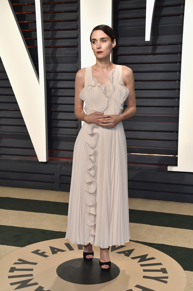 Rooney Mara Evening Dress