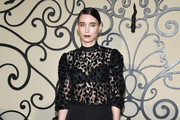 Rooney Mara Sheer Top