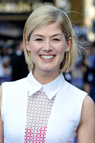 Rosamund Pike Hair