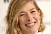 Rosamund Pike Short Wavy Cut