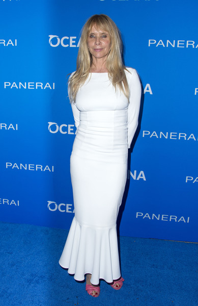 Rosanna Arquette Mermaid Gown