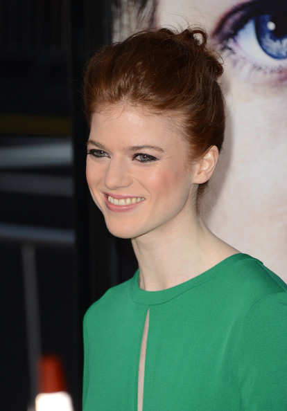 Rose Leslie Hair