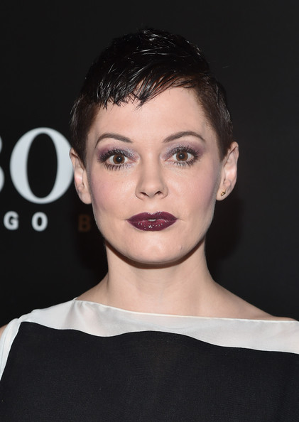Rose McGowan Berry Lipstick