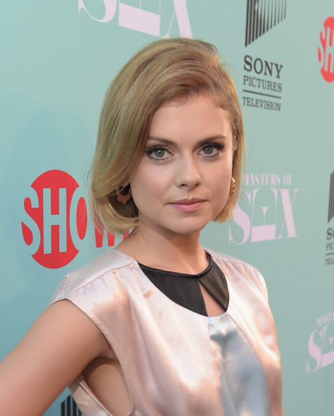 Rose McIver Short Side Part
