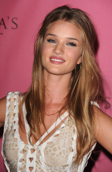 Victoria's Secret Supermodel Rosie Huntington-Whiteley arrives at the reveal