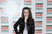 Rosie Day Leather Jacket