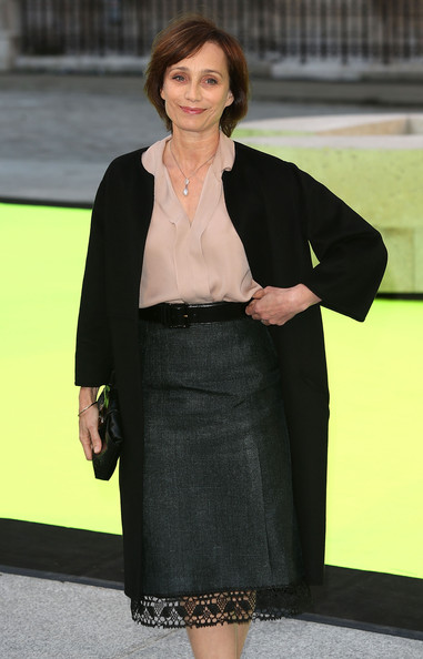 More Pics of Kristin Scott Thomas Wool Coat (1 of 2) - Wool Coat Lookbook - StyleBistro