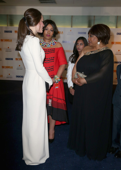 More Pics of Zindzi Mandela One Shoulder Dress (1 of 9) - One Shoulder Dress Lookbook - StyleBistro
