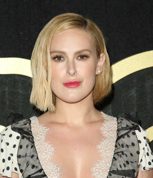 Rumer Willis Graduated Bob [hair,face,hairstyle,lip,blond,eyebrow,beauty,chin,premiere,long hair,arrivals,rumer willis,post emmy awards,the plaza,los angeles,california,pacific design center,hbo,reception,post emmy awards reception]