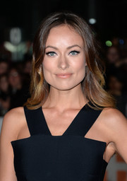 Olivia Wilde attended the 'Rush' premiere wearing her hair in subtle waves.