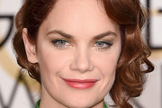 Ruth Wilson Bobby Pinned updo