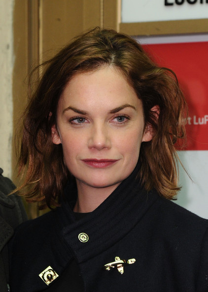 Ruth Wilson Messy Cut [punk rock,hair,face,eyebrow,hairstyle,chin,brown hair,long hair,opening night - arrivals,ruth wilson,curtain call,new york city,lucille lortel theatre]