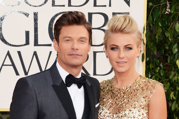 Ryan Seacrest Julianne Hough 70th Annual Golden Globe Awards - Arrivals