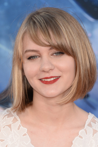 Ryan Simpkins Bob [guardians of the galaxy,hair,face,hairstyle,blond,chin,lip,eyebrow,bangs,layered hair,head,arrivals,ryan simpkins,california,hollywood,dolby theatre,marvel,premiere,premiere]