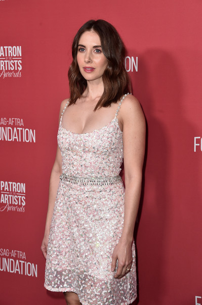 More Pics of Alison Brie Sequin Dress (1 of 5) - Alison Brie Lookbook - StyleBistro [clothing,fashion model,dress,premiere,cocktail dress,hairstyle,fashion,long hair,red carpet,thigh,arrivals,alison brie,beverly hills,california,wallis annenberg center for the performing arts,sag-aftra foundations 3rd annual patron of the artists awards,sag-aftra foundations 3rd annual patron of the artists awards]
