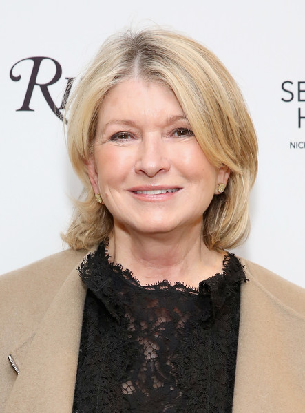 Martha Stewart sported her signature bob at the release of 'The Seaside House: Living on the Water.'