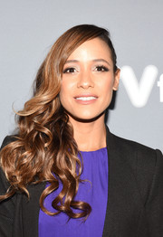 Dania Ramirez attended the 'Devious Maids' event during aTVfest looking glam with this curly side sweep.