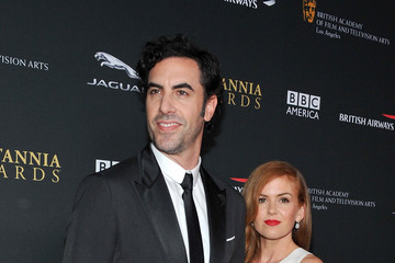 Sacha Baron Cohen Isla Fisher Stars at the BAFTA LA Britannia Awards — Part 3