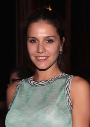Margherita Missoni kept her styling simple with this ponytail at the honor dinner for Gabriel Kuri and Urs Fischer.