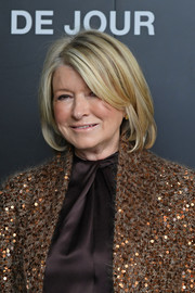 Martha Stewart kept it classic with this bob at the 'Belle de Jour' 50th anniversary screening.