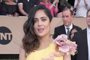 Salma Hayek Beaded Clutch