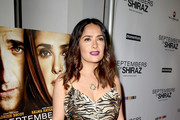 Salma Hayek Evening Sandals