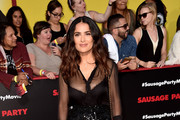 Salma Hayek Wide Leg Pants