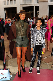 Unlike Willow, we did not own studded Louboutin sneakers at age nine! Le sigh.