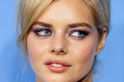 Samara Weaving Bright Eyeshadow