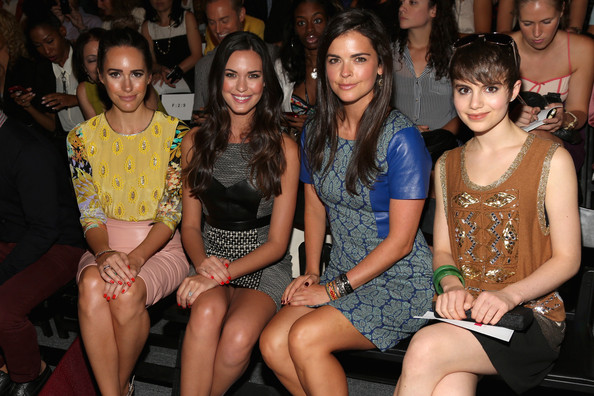 TRESemme At Tracy Reese - Front Row - Spring 2013 Mercedes-Benz Fashion Week