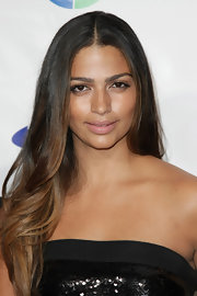 Camila Alves went for a natural look at the Four Seasons of Hope Gala with neutral eyeshadow.