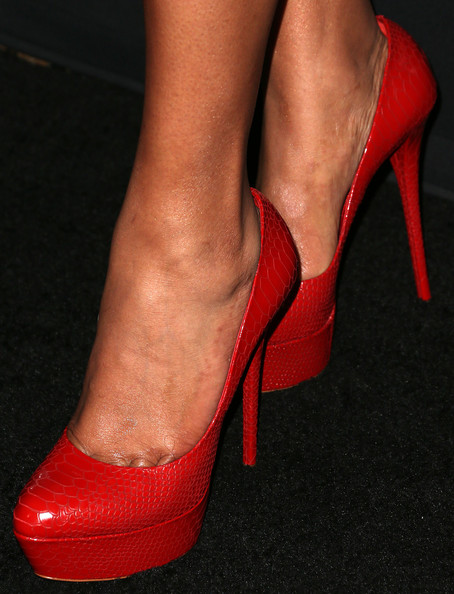Sanaa Lathan Shoes