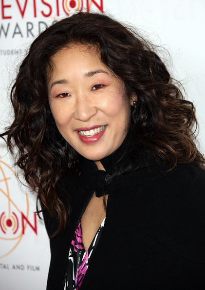 Sandra Oh Long Curls