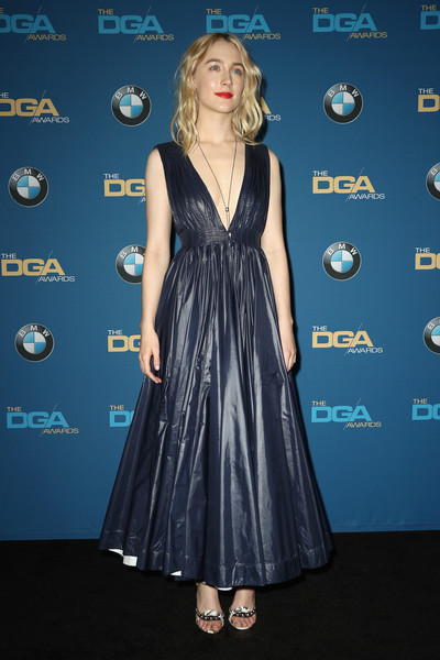Saoirse Ronan Evening Dress
